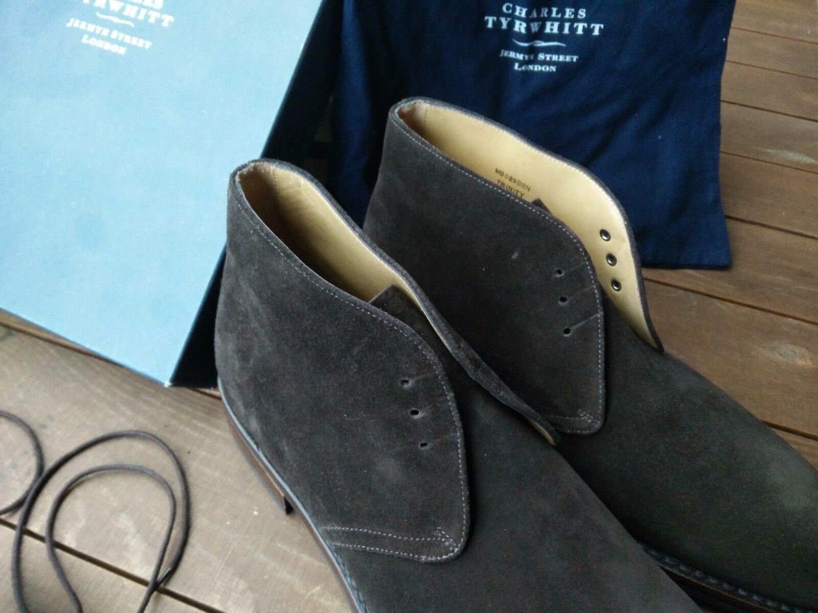 Charles Charles Charles Tyrwhitt UK 7,5 EUR 41(,5) Stiefel Chukka Stiefel Velourleder Goodyear 3c715b