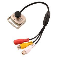 Mini Wired SPY Hidden DVR CCTV Security Surveillance Camera Monitor NTSC