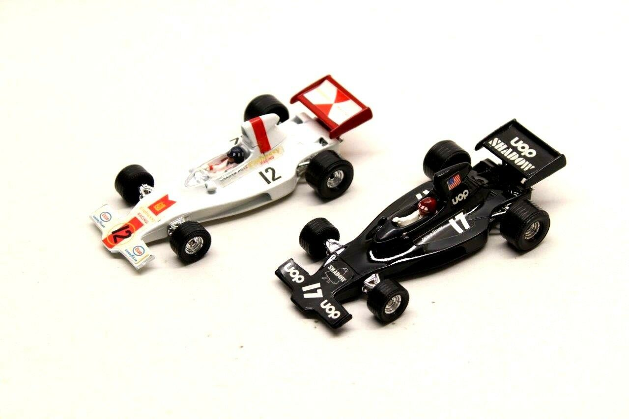 2 X CORGI TOYS F1 VINTAGE METAL DIECAST CARS SHADOW FORD COLLECTABLES G5