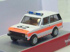 """Herpa Range Rover """"Politie Niederlande"""" (NL) - 092944 - 1/87"""