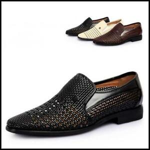 mens casual slip on summer shoes