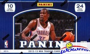 2012-13-Panini-Basketball-Factory-Sealed-HOBBY-Box-2-AUTO-19-INSERT-KAWHI-RC-YR