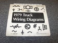 ford f manuals literature 1979 ford f250 f350 f500 f600 f750 f series electrical wiring diagram manual