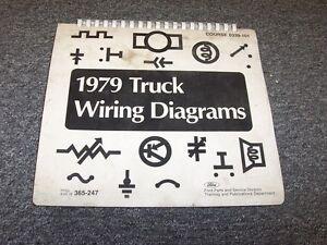 1979 ford f250 f350 f500 f600 f750 f series electrical wiring rh ebay com