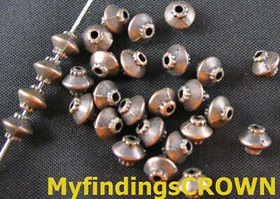 250 pcs Antiqued copper lantern spacer beads FC256