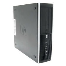 HP ELITE 8000 SFF PC CORE 2 DUO 3.16GHz 8GB 500GB DVD WINDOWS 7 PROFFESIONAL