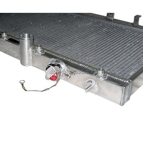 FANS CX Aluminum RADIATOR For 02-07 SUBARU IMPREZA WRX STI 2.0L 2.5L 2 ROWS