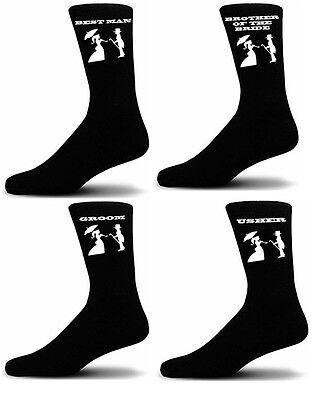 Freundschaftlich Black Luxury Cotton Rich Wedding Socks, Groom, Best Man, Usher Victorian Figures Reinigen Der MundhöHle.