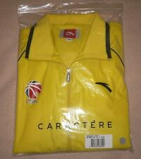 CBA Chinese Basketball Association ORIGINAL MENS YELLOW JACKET from ANTA