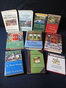 Jan-Karon-Set-of-10-Novels-Mitford-Years-Includes-Shipping