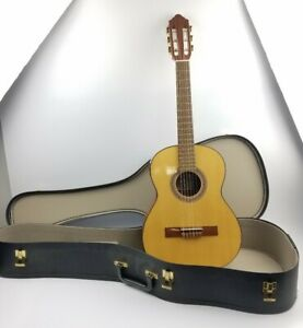 100% De Qualité Strunal 4655 Acoustique Guitare Classique Fabriqué En République Tchèque Avec étui-afficher Le Titre D'origine