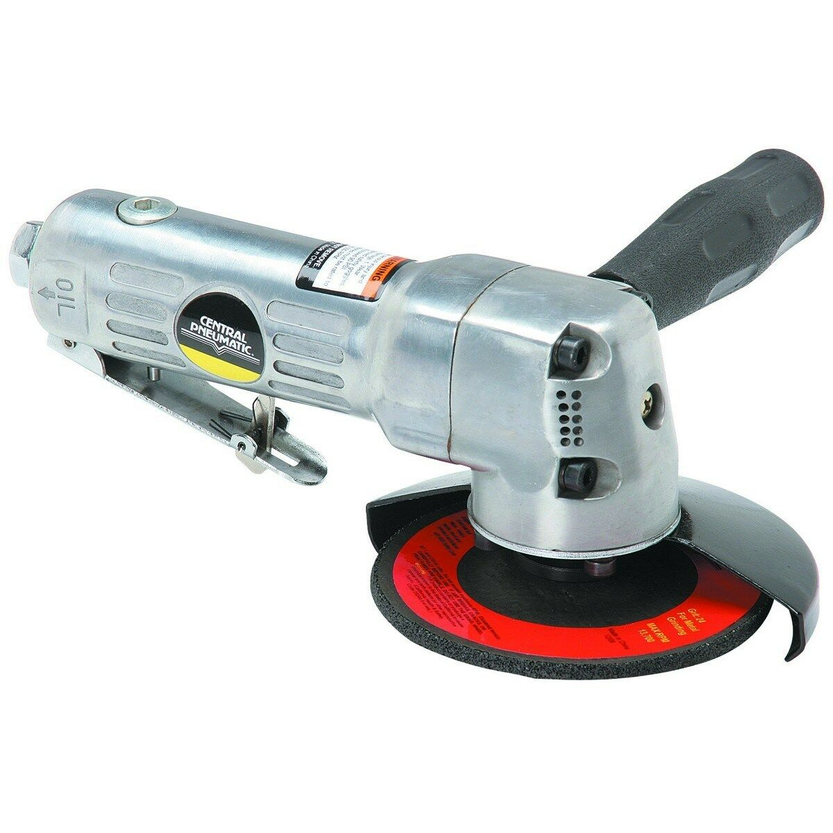 ANSI certified  Central Pneumatic 4 in Air Angle Die Saw Grinder 10,000 RPM