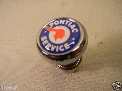 PONTIAC SERVICE CHROME 12 volt DASH LIGHTER ELEMENT VINTAGE DOME STYLE