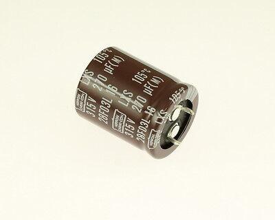 5x 330uF 315V Radial Snap In Mount Electrolytic Aluminum Capacitor 330mfd 315VDC