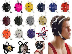 Cliff Keen E58 Signature Wrestling coiffures earguards Arts Martiaux Mixtes Adultes jeunes meilleure valeur