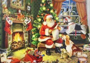 Natal-Papai-Noel-quebra-cabeca-500-Pecas-Novo-Na-Caixa-E-Lacrado