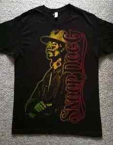 Snoop-Dogg-T-Shirt-Size-Large-Tultex-Fine-Jersey-Unworn-Rasta