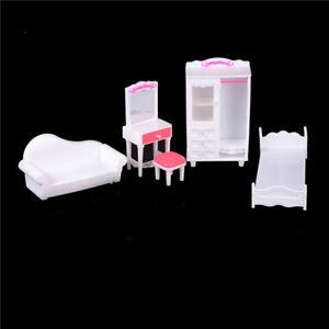 Das Bild Wird Geladen Barbie Puppenhaus Moebel Set Fuer Barbie Puppe  Schlafzimmer