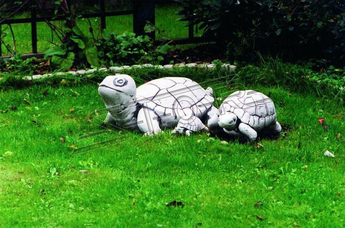 Decoración de Jardín Tortuga Terraza Piedra Figuras Deco Escultura Estatua