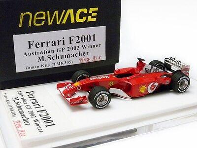 FERRARI F2001 AUSTRALIAN GP 2002 WINNER M. SCHUMACHER TAMEO KIT 1/43 TMK305