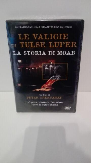 LE VALIGIE DI TULSE LUPER LA STORIA DI MOAB DVD EX NOLEGGIO Peter Greenaway