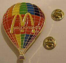 McDonald's Mcdo HOT BALLOON 200 years anniversary MONTGOLFIER brothers pin badge