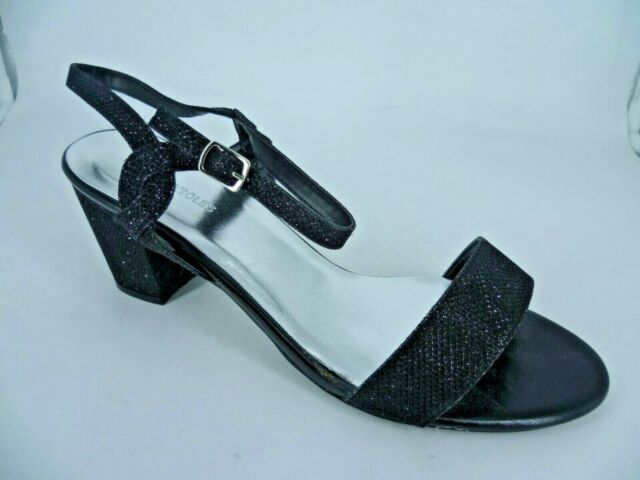 Heavenly Soles Extra Wide Fit Black