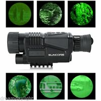 5x40 Monocular IR Night Vision Scope Video Playback Telescope Digital Camera