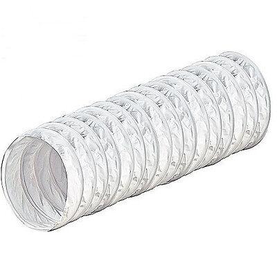Flexibler PVC Schlauch Flexschlauch 1m 3m 6m rund Ø 100 125 150 mm