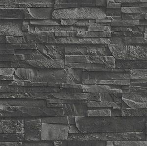 Das Bild Wird Geladen Vliestapete Factory 475036 Ziegel Stein Mauer Wand 3D