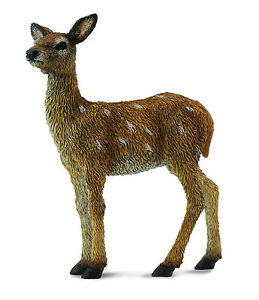 CollectA-88471-Red-Deer-Fawn-Realistic-Toy-Forest-Animal-Wildlife-Replica-NIP
