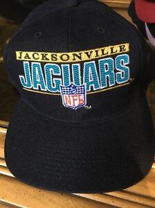 965d882b Details about Jacksonville Jaguars Vintage Snapback Spell Out Hat NFL Pro  Line Cap