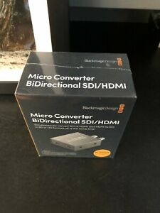 Blackmagic Design Micro Converter Bidirectional Sdi Hdmi With Power Supply Ebay