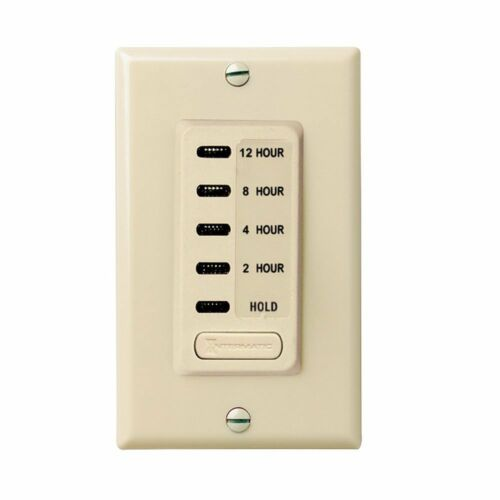 Intermatic EI230 2//4//8//12 Hour SPST 1800-Watt Electronic In-Wall Countdown Timer