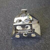 Optima Dimple Die Stainless Steel Battery Box Mounting Tray Red, Yellow Blue Top
