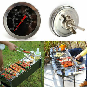 1PC-BBQ-Pit-Smoker-Grill-Thermometer-Gauge-Temp-Outdoor-Camping-Barbecue-Super