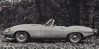 Mint Original 1962 Jaguar E-Type S1 Coupe Sales Brochure USA XKE