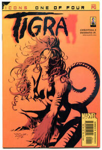 TIGRA-1-NM-Mike-Deodato-Icons-2002-Deepest-Cuts-more-MARVEL-in-store