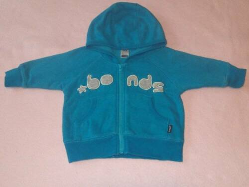 Bonds BlueAqua Signature Hooded Jacket, Size 00