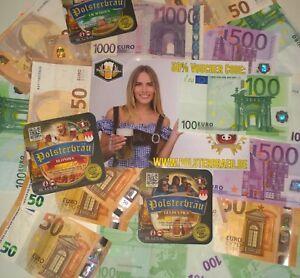 Coupon per birra con 50% di sconto, ossia: per € 300, acquistare solo 150 € pagare!!!