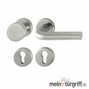 Hoppe Wechselgarnitur Bonn WE Edelstahl matt E58//42KV//42KVS//150Z F69 Türgriff