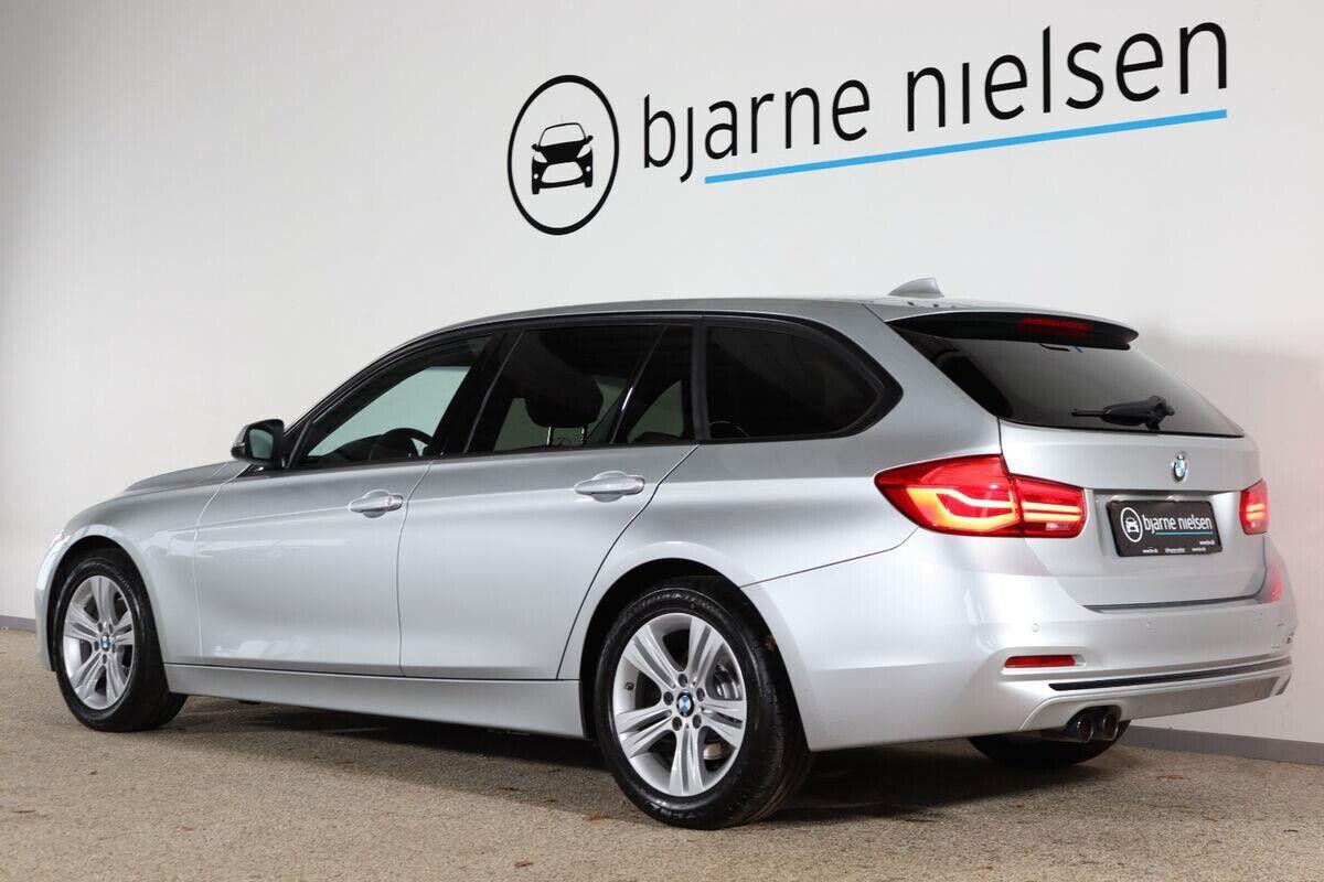 BMW 320d 2,0 Touring Sport Line aut. - billede 2