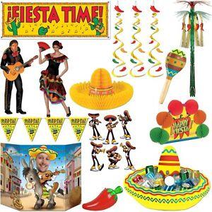 Fiesta mexicana party dekoration mexiko motto party deko for Mexikanische dekoration