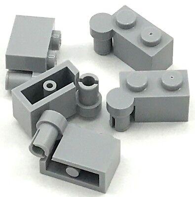 30383 Hinge Plate Light Bluish Gray NEU Lego 2 x Scharnier Gelenk grau NEW