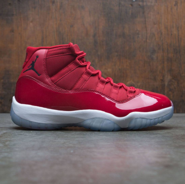 232cf2b2b7a8 2017 Nike Air Jordan 11 XI Retro Win Like 96 Gym Red 378037-623 Size ...