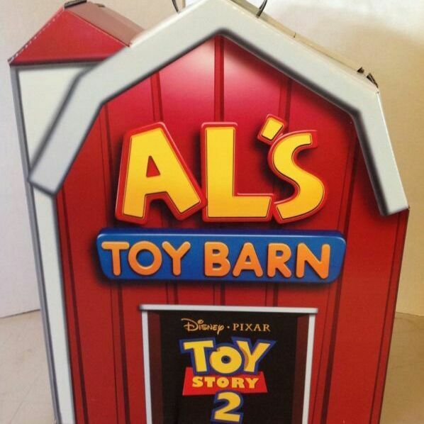 Rare Vintage Toy Story 2 AL'S TOYBARN set From JAPAN Free shipping