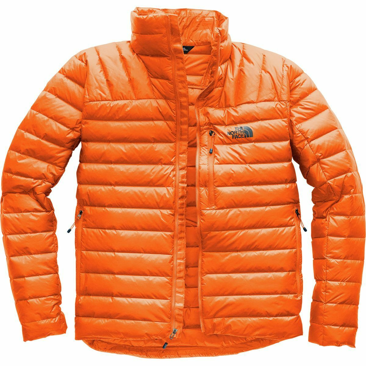 The North Face Mens MORPH 800 Down Lightweight Insulated Jacket Persian Orange M
