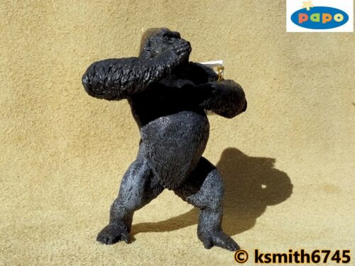 Papo MOUNTAIN GORILLA plastic toy wild zoo animal monkey ape NEW *