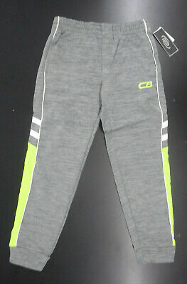 Boys CB Sports $36 Navy Blue W//T Green Srtipes Athletic Pants Sizes 4 5//6 /& 7