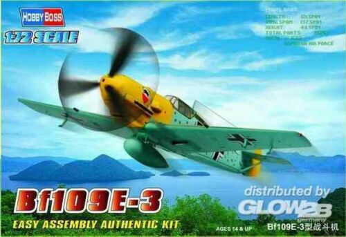 Hobby Boss 80253 Plastikmodellbau Luftfahrt Bf109E-3 Fighter